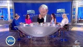 Download Jenna Bush Hager & Barbara Bush - Proud Of Dad's Speech On TRUMP (The View) Video