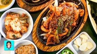 Download Spicy Squid Wraps at Choi's Korean Restaurant - Kingdom Koreatown #8 Video