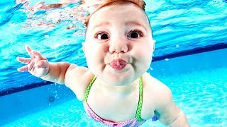 Download Best WATER MOMENTS with KIDS! - Super FUNNY, COOL and CHILLING SUMMER babies COMPILATION Video