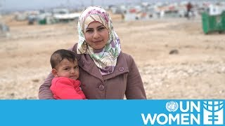 Download Empowering women in Za'atari refugee camp Video