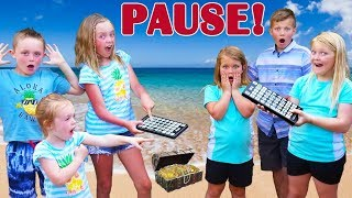 Download Pause Challenge! Kids Fun TV VS Shot of the Yeagers! Team Up Overseas in Hawaii! Video