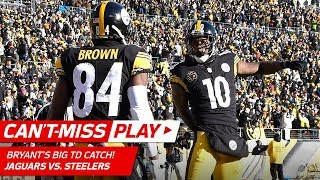 Download Big Ben's Huge TD Bomb to Martavis Bryant on 4th & 11! | Can't-Miss Play | NFL Divisional Round HLs Video
