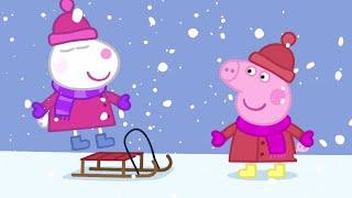 Download Peppa Pig Français ❄️Hiver! | Peppa Noël 🎁Dessin Animé Video