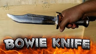 Download Casting A Bowie Knife Out Of Copper Or Aluminum Bronze Start To Finish Video