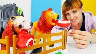 Download Веселая Школа с Машей Капуки Кануки - Видео для детей - Строим зоопарк Video
