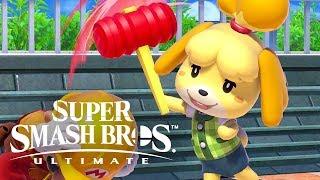 Download Super Smash Bros. Ultimate - Isabelle Official Reveal Trailer Video