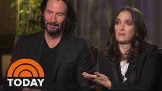 Download Keanu Reeves & Winona Ryder On New Film 'Every Time We See Each Other It Is A Meet Cute' | TODAY Video