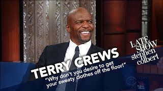 Download Terry Crews Works Out For Two Hours A Day (Yes, Two) Video