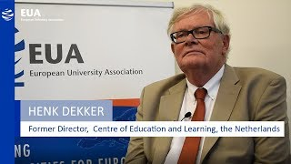 Download EUA Learning & Teaching Initiative - Henk Dekker, Centre of Education and Learning, Netherlands Video