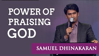 Download The Power Of Praising God (English - Hindi) | Samuel Dhinakaran Video