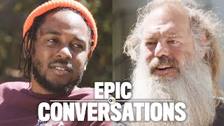 Download Kendrick Lamar Meets Rick Rubin and They Have an Epic Conversation | GQ Video