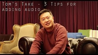 Download 3 Tips about adding or changing Audio to your YouTube videos Video