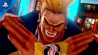 Download Jump Force - All Might Reveal Trailer   PS4 Video