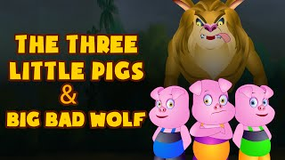Download The Three Little Pigs and Big Bad Wolf | Fairy Tales for Children by Tiny Dream Kids Video