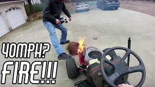Download Top Speed Run & FIRE: Racing Mower Build Pt. 7 Video