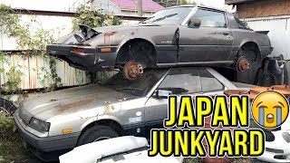 Download JAPANESE JUNKYARD! - RARE DR30 Skyline Rotting Away In Tochigi Japan Video