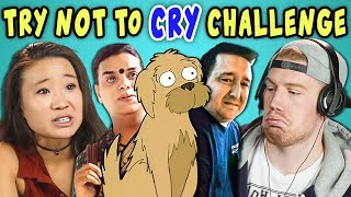 Download COLLEGE KIDS REACT TO TRY NOT TO CRY CHALLENGE Video