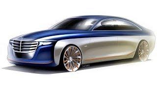 Download 2020 Mercedes S-class design sketch Video