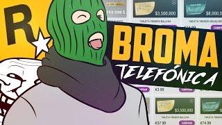 Download ¡¡ PAPITO LLAMA A ROCKSTAR & PIDE UN TIBURÓN EN GTA V !! - BROMA TELEFÓNICA Video