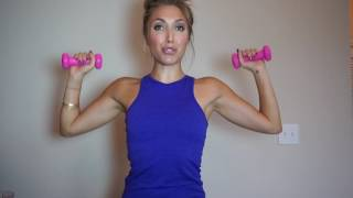 Download 5 minute arm workout- get long, lean, toned arms Video