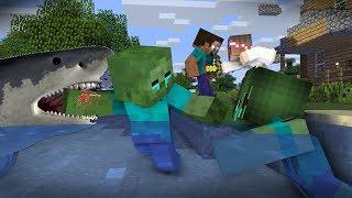 Download Monster School : RIP Zombie & Herobrine   Zombie Life 9 - Minecraft Animation Video