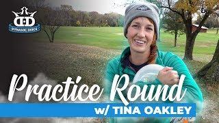 Download Tina Oakley Disc Golf Practice Round at Jones West! Video