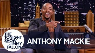 Download Anthony Mackie's First Time Smoking Weed Got Him Chased by a Moose Video