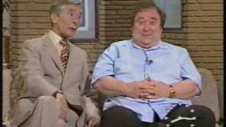 Download Bernard Manning and Kenneth Williams together on TV-am - 1985 Video