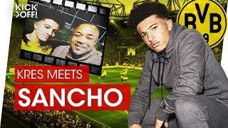Download Jadon Sancho: Dortmund's rising star from England | Interview Video