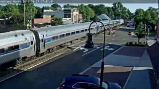 Download Amtrak vs. Car @Ashland, VA. Video