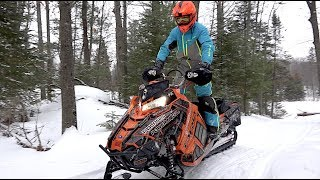 Download Polaris RMK AXYS Turbo clutching and bogging, Skidoo Rev carb issue! Video