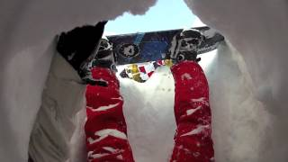 Download JACKSTAR AND PEGLEG - WHY YOU SHOULD NEVER RIDE A SNOWBOARD OFF PISTE ALONE Video