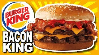Download BACON KING at Burger King Review Video