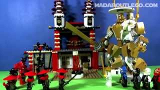 Download LEGO NINJAGO TEMPLE OF LIGHT 70505 Video