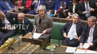 Download LIVE: PM May gives statements to MPs in House of Commons Video