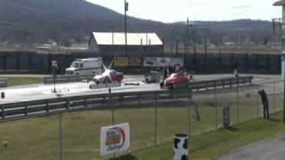 Download 99 plymouth prowler vs 550 hp vette 3-19-11 Island dragway opener my best run at 14.43 Video