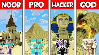 Download Minecraft NOOB vs PRO vs HACKER vs GOD : FAMILY SAND BASE in Minecraft! Animation Video