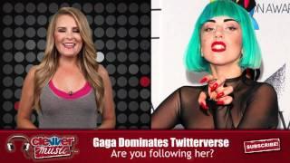 Download Lady Gaga Hits 12 Million Twitter Followers Video
