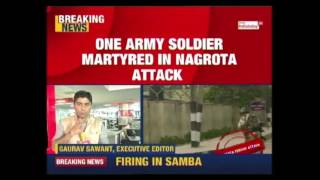 Download One Jawan Marytred In Nagrota Army Unit Attack Video