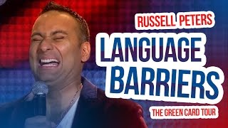 Download ″Language Barriers″   Russell Peters - The Green Card Tour Video