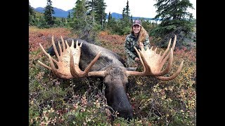 Download Girl Shoots GIANT MOOSE!!! - Stuck N the Rut 105 Video