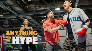 Download Richie Le Challenges ComplexCon Attendee for a chance to win BBC NMDs | Anything For The Hype Video