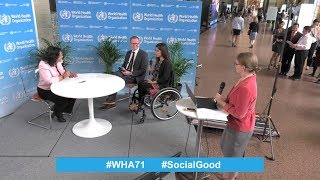 Download Live from the World Health Assembly: World Health +SocialGood, 23 May 2018 Video