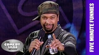 Download DeRay Davis⎢A Natural Disaster Trumps Any Fight Your Having⎢Shaq's Five Minute Funnies⎢Comedy Shaq Video