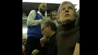 Download Woman kicked off flight after berating Trump supporter Video