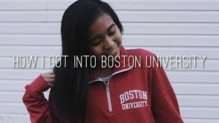 Download How I Got Into Boston University | GPA, SAT/ACT Scores, Etc. Video
