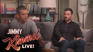 Download Matt Damon and Jimmy Kimmel go to Couples Therapy Video