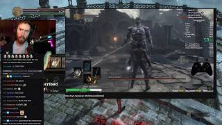 Download Asmongold Watches DS3 Any% Speedrun World Record [33:23] by Nemz38 Video