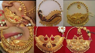 Download Latest Bridal Gold Nose Pin-Nathiya Designs 2018 |The Fashion Plus Collection Video
