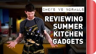 Download Chefs vs Normals Reviewing Summer Gadgets Video